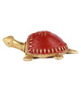Olha-O Golden Metal Tortoise Table Top Showpieces - Set of 2