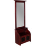 Chagny Dressing Table with Detachable Mirror in Passion Mahogany finish by Amberville