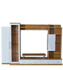 Olive Wall Unit in White & Light Oak Color by Royal Oak