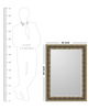 Olympus Minimalist Mirrors in Gold by CasaCraft