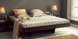 Omaha King Size Bed in Espresso Walnut Finish by Woodsworth