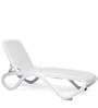 Omega Sun Lounger in Bianco Finish by Nardi