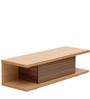 Natsumi One Drawer Entertainment Unit in Oak and Maple Finish by Mintwud