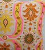 One Good Thing Yellow & Pink Canvas 16 x 16 Inch Aari-Embroidered Cushion Cover - Set of 2