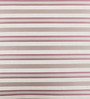 Onset Pink & Cream Silk 16 x 16 Inch Stripes Cushion Cover