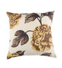 Onset Yellow & Cream Linen 20 x 20 Inch Cushion Cover