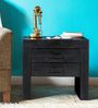 Ontario Bed Side Table in Espresso Walnut Finish by Woodsworth