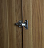 Ophelia Five Door Wardrobe in Brown Colour by Lalco Interiors