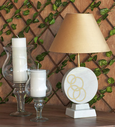 Orange Tree Gold Marble Table Lamp