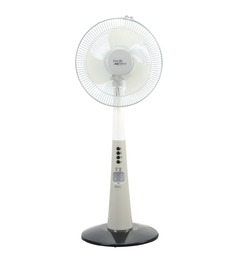 Orbit Pacific Breeze White 11.9 Inch Pedestal Fan 300mm