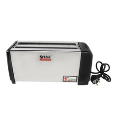 OrbitWhite 12 x 8 x 9 Inch 1300W Pop-up Toaster (Model No: T-6000B)