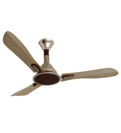 Orient Areta Golden Beige & Coffee 1200mm Designer Ceiling Fan