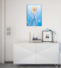 Licensed Frozen Princess Digital Printed With Laminated Wall Poster