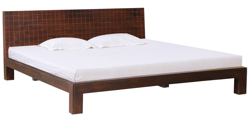 Orlando King Size Bed in Chestnut Finish by HomeTown