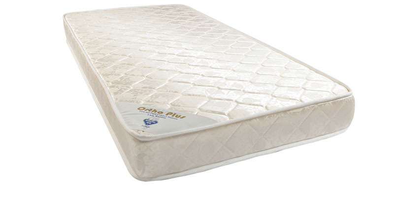Ortho Plus Four Inches Rebonded Foam Queen-Size Mattress by Spring Air