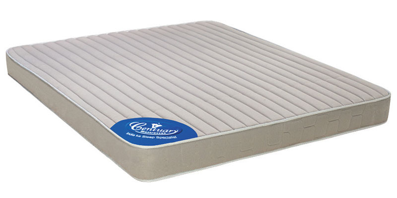 Ortho Spine 5 Inch Thick King-Size Coir Mattress by Centuary Mattress