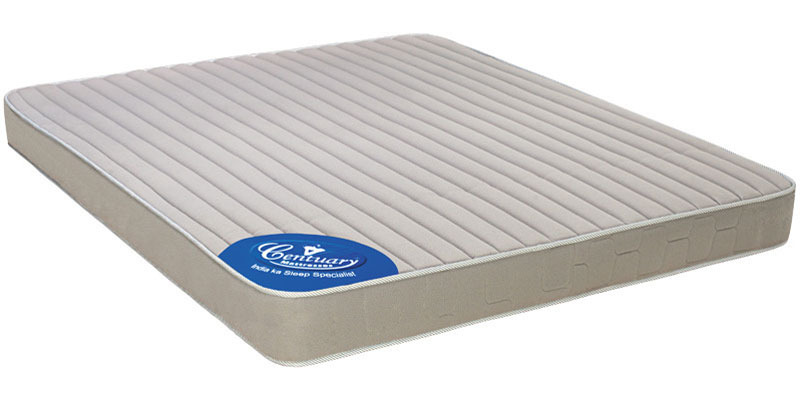 Ortho Spine 5 Inch Thick Queen-size Coir Mattress by Centuary Mattress