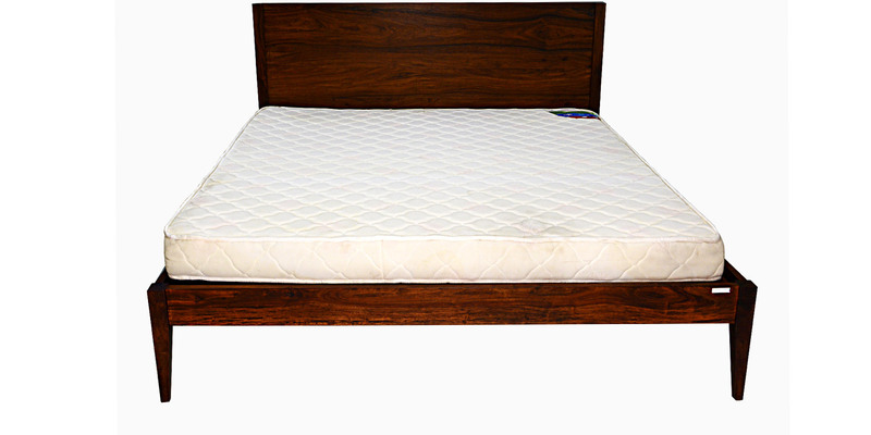 Orthomatic Deluxe Bonded Foam Mattress in White Colour by Godrej Interio