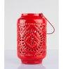 Orange Tree Red Iron Tealight Table Candle Holder