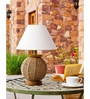 Orange Tree Off White Cotton Lina Table Lamp