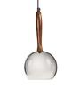 Orange Tree Silver Stainless Steel Bell Pendant