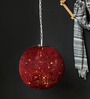Orange Tree Talish Wire Mesh Red Pendant