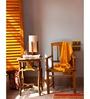 Orange Tree White Cotton Kim Table Lamp