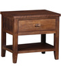 Lynnwood Bed Side Table in Provincial Teak Finish by Woodsworth