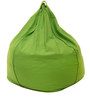 Organic XXL Size Bean Bag Covers without Beans in Green Colour by REME