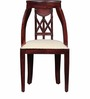 Clayton Dining Chair in Passion Mahogany Finish by Amberville