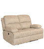 Oriel Two Seater Recliner in Beige Colour by @home