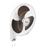 Orient White and Brown 16 Inch High Speed Wall Fan