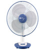 Orient 400 MM White   Blue Table Fan