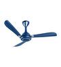Orient Oprah Blue Metal 47.24 Inch 3-blade Ceiling Fan