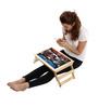 Licensed Civil War Digital Printed Folding Laptop Table by Orka