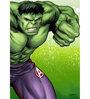 Licensed Marvel Hulk Printed Digital Printed with Laminated Wall Poster