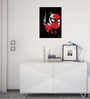 Licensed Marvel Spiderman Face Printed Digital Printed with Laminated Wall Poster