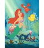 Licensed Princess Ariel Princess Digital Printed with Laminated Wall Poster