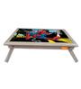 Licensed Spiderman Digital Printed Folding Laptop Table