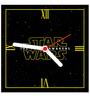 Licensed Star Wars Digital Printed Square Analog Wall Clock