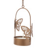 Orlando's Decor Gold Metal Single Butterfly Hanging Tea Light Holder