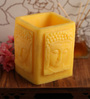 Orlando's Decor Yellow Buddha Luminary Candle