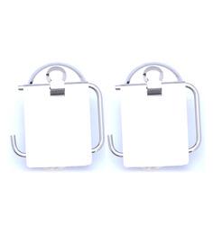 Osian Glossy Stainless Steel Toilet Paper Holder Set (Model No: C-2042)