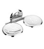 Osian Creta Series Glossy Stainless Steel Soap Dish