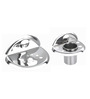 Osian Glossy Stainless Steel 2-piece Bathroom Accessories Set (Model: C-67)