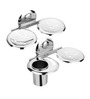 Osian Glossy Stainless Steel 2-piece Bathroom Accessories Set (Model: CT-89)