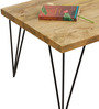 Oslo Solid Wood Coffee Table in Natural Finish by TheArmchair