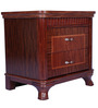 Othello Side Table Brown Colour by Lalco Interiors