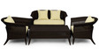 Outdoor Sofa Set (2S + 1S + 1S + CT) by Svelte