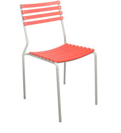 Visitor Plastic Chair in Red Colour by Ventura
